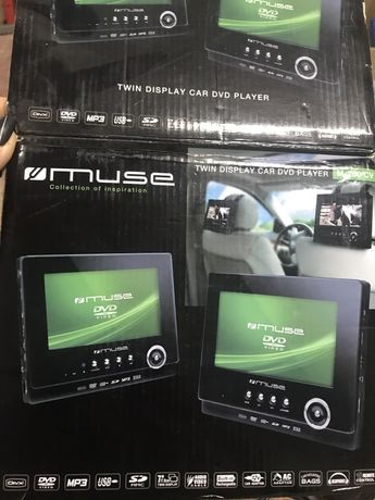 Dvd samochodowe Muse M750