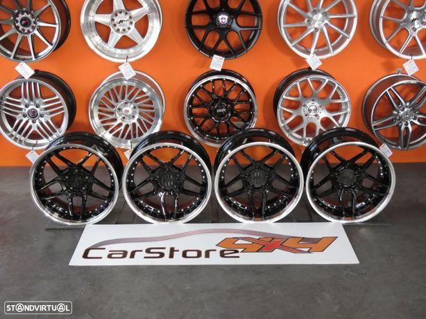 Jantes BMW Concave 18 8.5 et 20 + 10 et15  5x120 Black + Silver