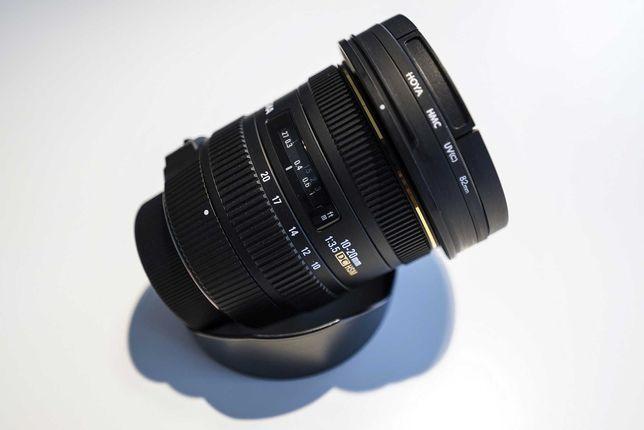 Szerokokątny obiektyw Sigma EX DC HSM 10-20mm 1:3.5 do NIKON
