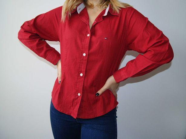 Camisa vermelha Tommy Hilfiger