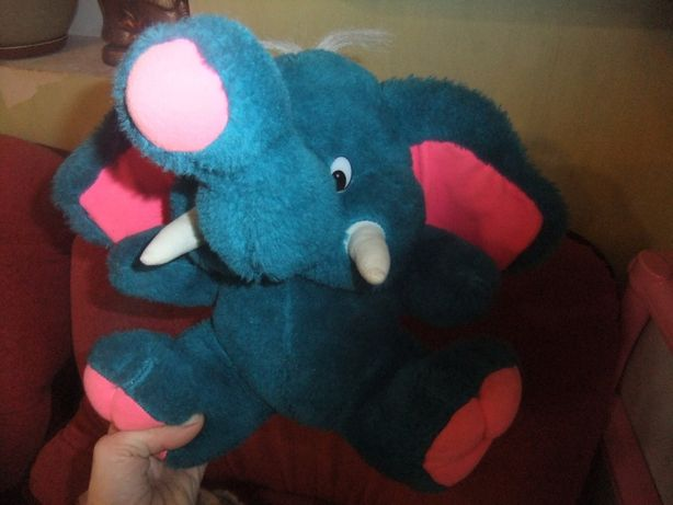 мягкая игрушка слоник.
