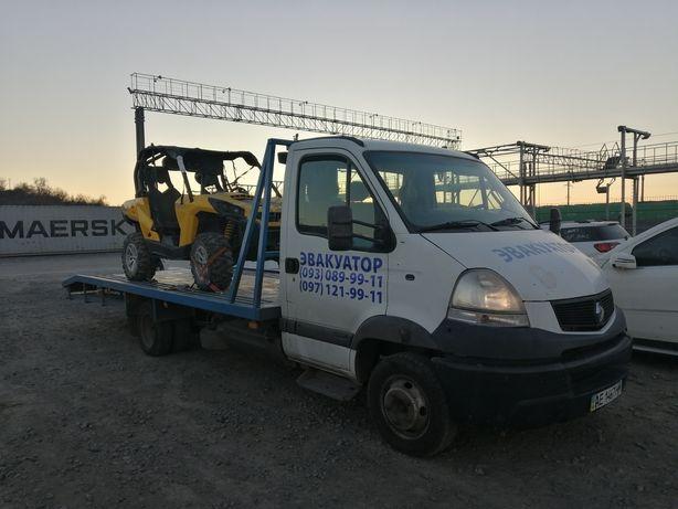 Эвакуатор-Автовоз с адресной доставкой по Украине!