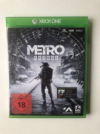 Xbox one gra Metro Exodus