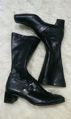 Czarne buty Gabor