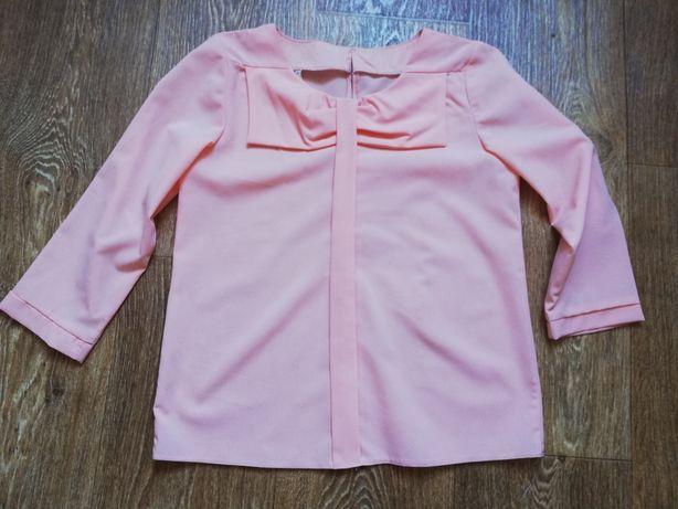 Персиковая блуза