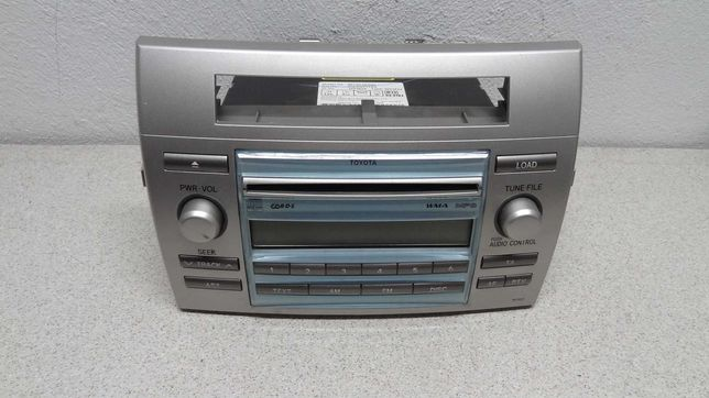 Toyota corolla verso II lift radio cd