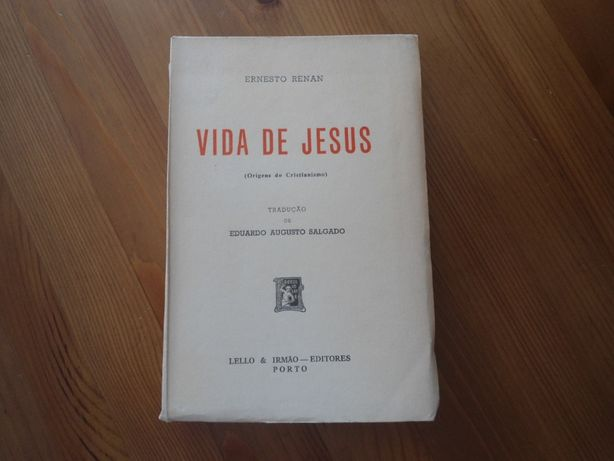 Vida de Jesus (Origens do Cristianismo) por Ernesto Renan