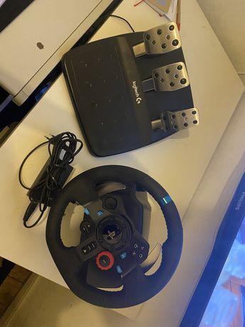 Volante + pedais Loguitech G29 PS3/PS4/PC