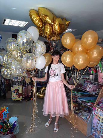 Гелиевые шары, фотозона, все для праздника