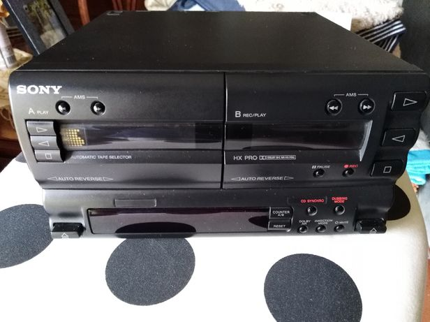 Deck de cassetes SONY TC-H5900 - Bolsa para câmara de filmar