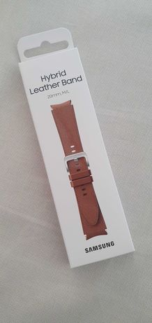 Samsung Hybrid Camel Leather Pulseira Galaxy Watch (Nova c/peliculas)