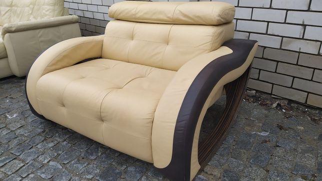 Кожаный диван «Leolux» из Германии! (200309)