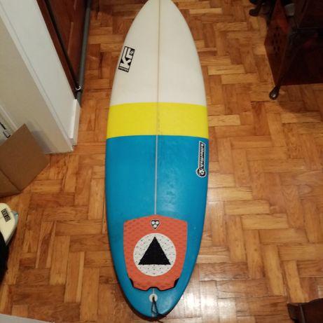"Prancha surf tipo malibu evolution 6""1'"
