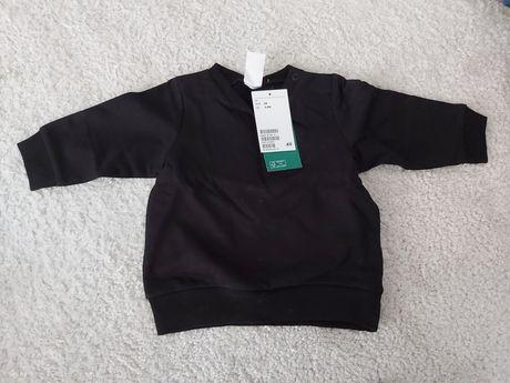 Nowa czarna bluza hm rozmiar 68