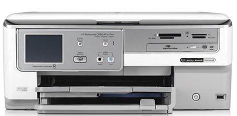 HP c8180 Photosmart All-in-One Printer - Peças