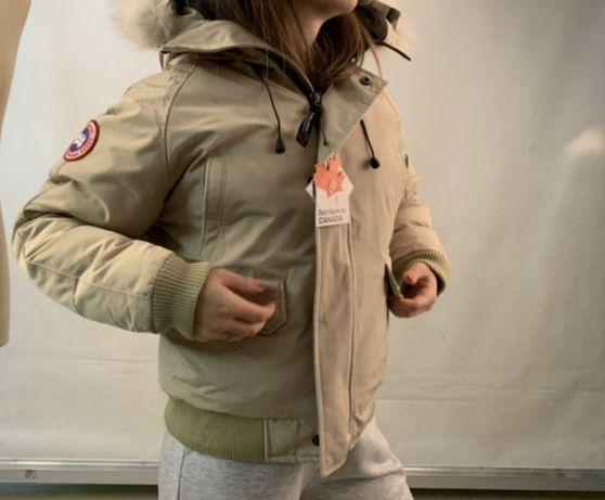 куртка  зимняя canada Goose канада Гус короткая
