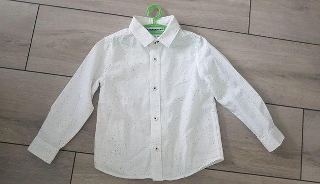 Koszula biała reseved 98 cm