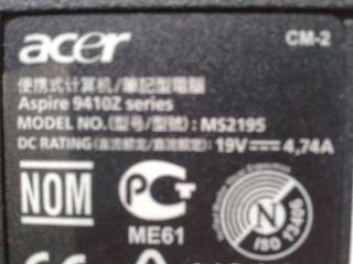 Разборка Acer Aspire 9410Z