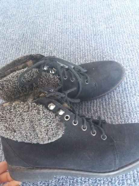Ботинки черевики демисезонне замшеві 37р.