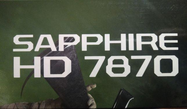 Продам видеокарту AMD\RADEON 7870 2 gb