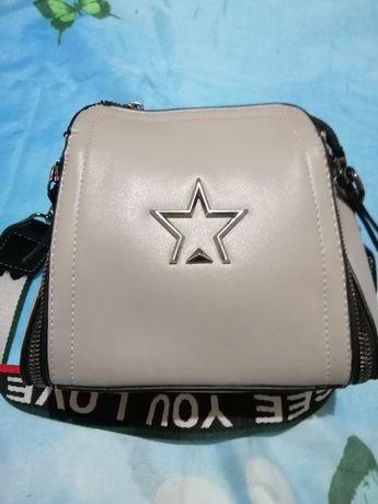 Жіноча сумочка сіра
