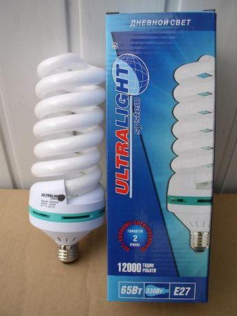 Лампы энергосберегающие высокомощные 65-85Вт Е27-Е40