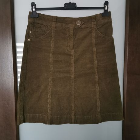 Sztruksowa spódnica H&M