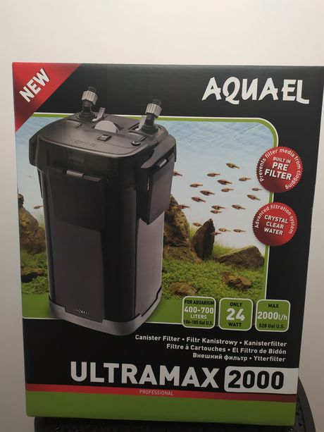 Nowość Aquael Ultramax 2000 filtr do dużego akwarium