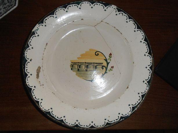 prato faiança- grande formato, 35 cm