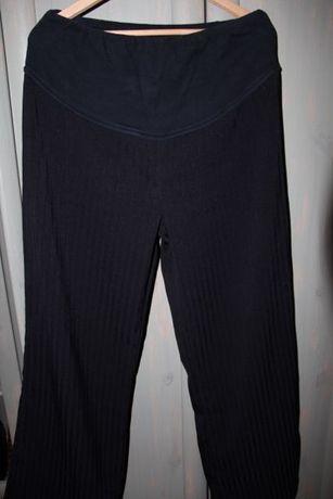 Spodnie ciążowe czarne, rozmiar XL