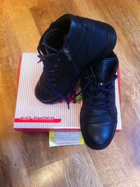 Ботинки деми кожа Kemal Pafi  36 размер