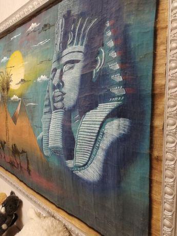Картина с папируса Египет большая