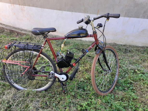 Sprzedam rower z silnikiem spalinowym