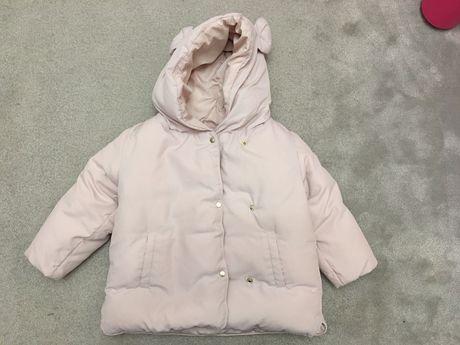 Kurtka Zara dla dziewczynki rozmiar 98