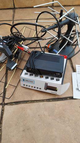 Dekoder DVBT + 2 anteny