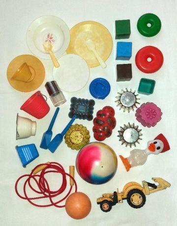 Игрушки 32шт пасочки для песочницы комплектом + скакалка, мяч в подаро