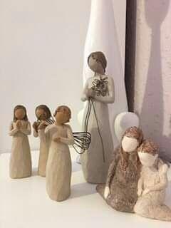 Anioł  figurki z serii Willow Tree