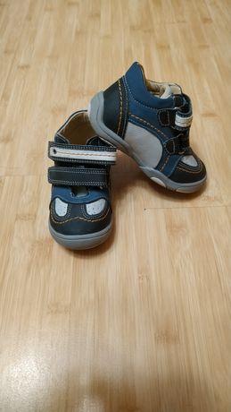Кожаные демисезонные ботиночки на мальчика Шалунишка