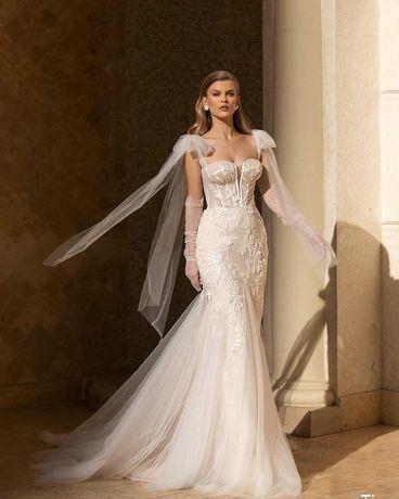 платье свадебное с сукня весільна