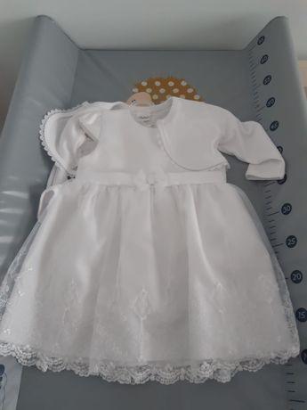 Komplet do chrztu dla dziewczynki