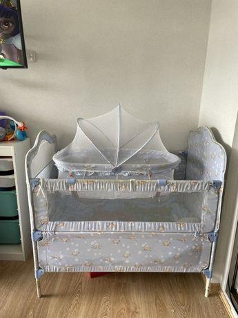 Кроватка детская, кровать, ліжечко дитяче кроватка трансформер, люлька