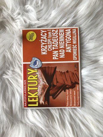 Płyta audiobooki lektury matura