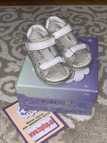 Ортопедические сандали , босоножки для девочки Topitop