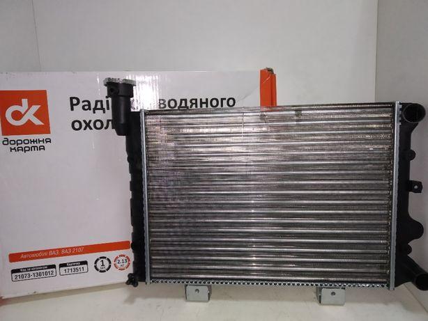 Радиатор охлаждения Ваз 2104-21073 инжектор