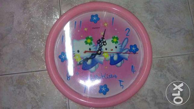 Relógio Hello Kitty - Parede