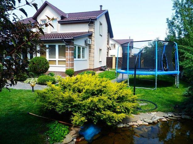 Сдам Дом на Осокорках в коттеджном городке, бассейн/сауна,рядом Днепр.