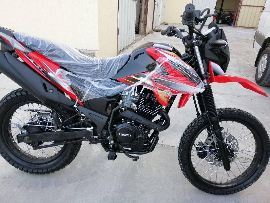 Мотоцикл ендуро крос Lonsin Pruss 200 см3