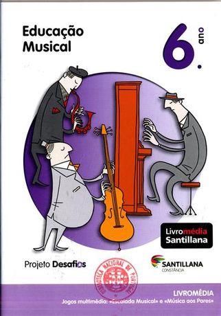 Livro de Educação Musical, 6º ano - Projeto Desafio