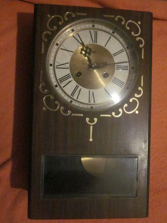 Duży,piękny zegar, stary, kompletny, sprawny, rok 1973