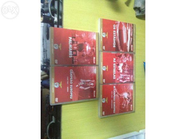 Coleção DVD Benfica original